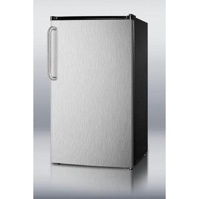 Summit FF1152SSIM Refrigerator Freezer With Installed Icemaker