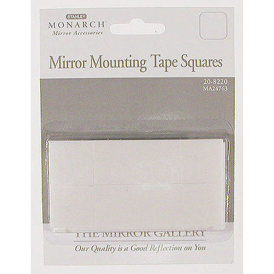 Stanley Monarch Mirror Mounting Tape Squares 20-8220