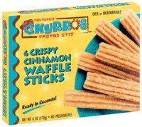 Tio Pepe's Crispy Cinnamon 6 Oz Churros Waffle Sticks 6 Ct Box