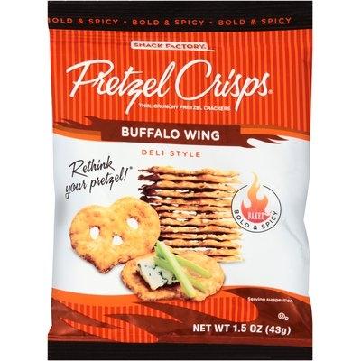Pretzel Crisps® Buffalo Wing Deli Style Pretzel Crackers