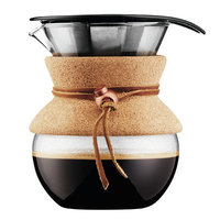 Bodum Pour Over Coffee Maker with Permanent Filter and Cork Handle Size: 17 oz.