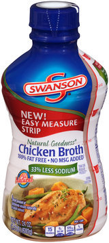 Swanson® Natural Goodness® Chicken Broth 24 oz. Bottle