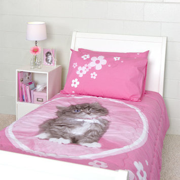 Dissero Brands So Sweet Kitten Twin Quilted Comforter Set