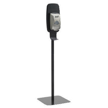 PURELL 2425-DS Floor Stand,1200mL, Gray/Black