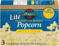 Haggen Lite Gourmet Microwave Butter Popcorn