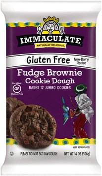 Immaculate® Gluten Free Fudge Brownie Cookie Dough 14 oz. Pack