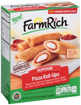 FarmRich® Pepperoni Pizza Roll-Ups 15.25 oz. Box