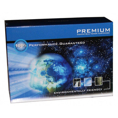 Premium Compatibles High Yield Black Toner Cartridge - Laser - 12000 Page - Black