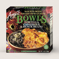 Amy's Kitchen Tortilla Casserole & Black Beans Bow