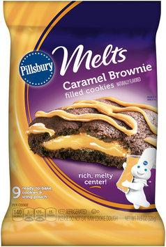 Pillsbury Melts Caramel Brownie Filled Cookies 9 ct Pack