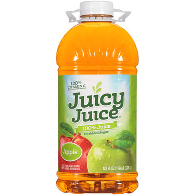 Juicy Juice® Apple 100% Juice 128 fl. oz. Bottle