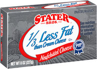 Stater Bros.® Neufchatel Cheese 8 oz. Box