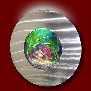 Vandue Corporation Aussie 2.75 Gallon Wall Mounted Aquarium Tank Color: Silver