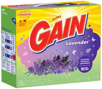 Gain® Ultra Lavender with FreshLock Powder Laundry Detergent 117 oz. Box