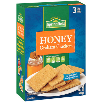 Springfield® Honey Graham Crackers 14.4 oz. Box