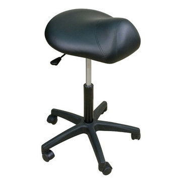 Oakworks Premium Saddle Stool with Multi-Density Padding - Color: Sage