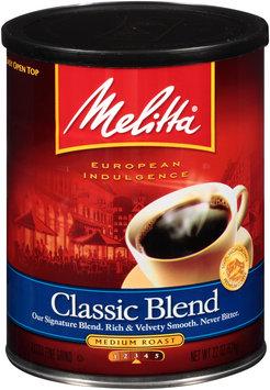 Melitta® Classic Blend Medium Roast Ground Coffee 22 oz. Canister