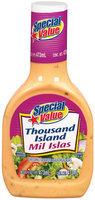 Special Value Thousand Island Dressing 16 Oz Plastic Bottle