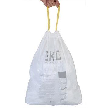 Eko Plastic Drawstring Liner for Step Bin Trash Can Size: 1.8-2.5 Gallons