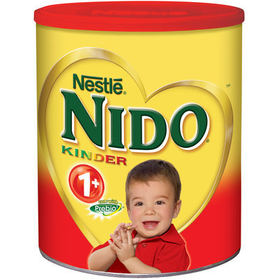 Nestlé NIDO Kinder 1+ Powdered Milk Beverage, 6 - 3.52 lb. Canisters