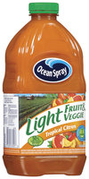 Ocean Spray Light Fruit & Veggie Tropical Citrus Juice Drink