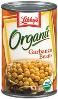 Libby's® Organics Organic  Garbanzo Beans 15 Oz Can