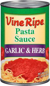 Vine Ripe® Garlic & Herb Pasta Sauce 24 oz. Can