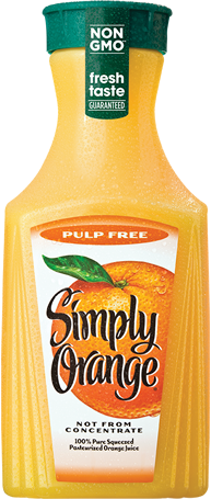 Simply Orange® Pulp Free Juice