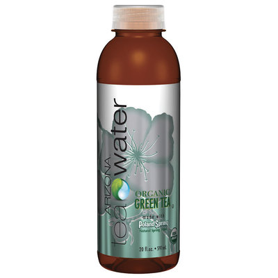 Poland Spring Organic Green Tea Arizona Tea Water 20 fl. oz. Plastic Bottle