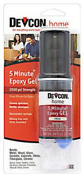 Devcon® Home 5 Minute® Epoxy Gel 0.84 fl. oz. Syringe