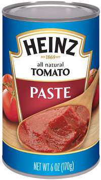 Heinz® All Natural Tomato Paste 6 oz. Can