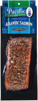 Pacific Sustainable Seafood™ Pepper Hardwood Smoked Atlantic Salmon 4 oz. Pack