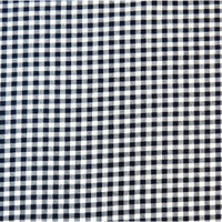 Stwd Gingham Check Fitted Cradle Sheet Color: Navy