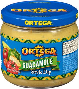 Ortega Guacamole Style Dip 11.5 oz Jar