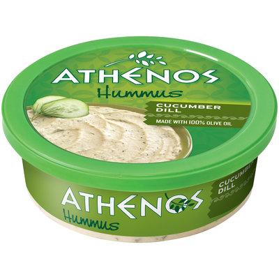 Athenos Cucumber Dill Hummus 7 Oz Plastic Tub