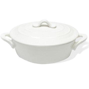 Maxwell & Williams White Basics 12-oz Oven Chef Oval Mini Casserole