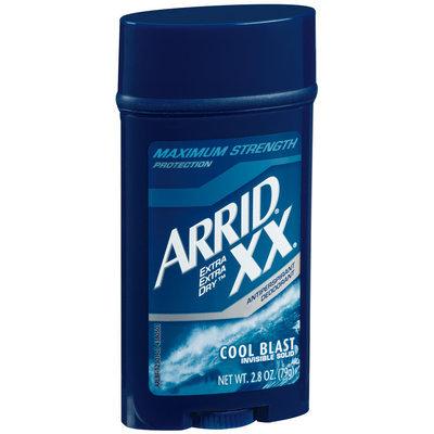 Arrid Xx Cool Blast Maximum Strength Invisible Solid Anti-Perspirant Deodorant 2.8 Oz Stick
