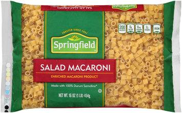 Springfield® Salad Macaroni 16 oz. Bag