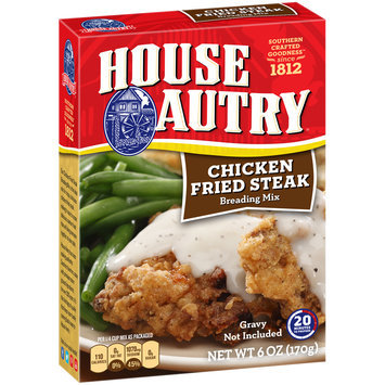 House Autry® Chicken Fried Steak Breading Mix 6 oz. Box