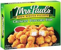 Mrs. Paul's® 100% Whole Fillets Crunchy Popcorn Fish 20 oz. Box