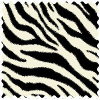 Stwd Zebra Fabric by the Yard