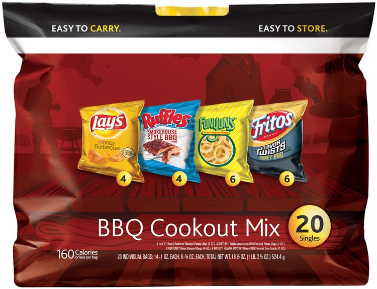 Frito-Lay® BBQ Cookout Mix™ Variety Pack Snacks 20 ct Bags