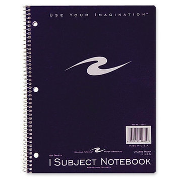 Roaring Spring Paper Ruled and Subject Notebooks Wirebound Notebook