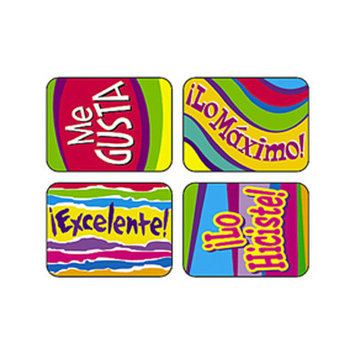 TREND ENTERPRISES INC. T-47125 APPLAUSE STICKERS SPAN. OUTSTANDING