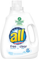 all free clear Laundry Detergent
