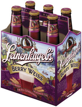 Leinenkugel's Berry Weiss Longneck 12 Oz Bier 6 Pk Glass Bottles