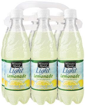 Minute Maid Light Lemonade 6-16.9 fl oz Plastic Bottles