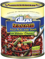The Allens Seasoned W/Vidalia Onions Field Peas & Snaps 27 Oz Can