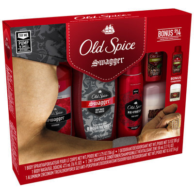 Old Spice® Swagger™ Holiday Bundle 6 Piece Box