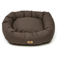West Paw Design West Paw Cotton Bumper Dog Bed Coffee XL